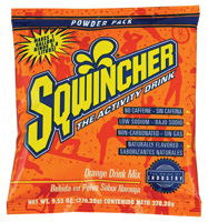 Sqwincher+ 9.53 Ounce Instant Powder Pack Orange Electrolyte Drink - Yields 1 Gallon (20 Packets Per Box)