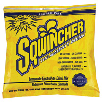 Sqwincher+ 23.83 Ounce Instant Powder Pack Lemonade Electrolyte Drink - Yields 2 1/2 Gallons