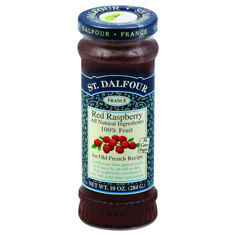 St. Dalfour - Red Raspberry Fruit Conserves ( 6 - 10 OZ)