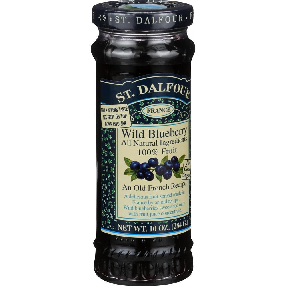 St. Dalfour - Blueberry Fruit Conserves ( 6 - 10 OZ)