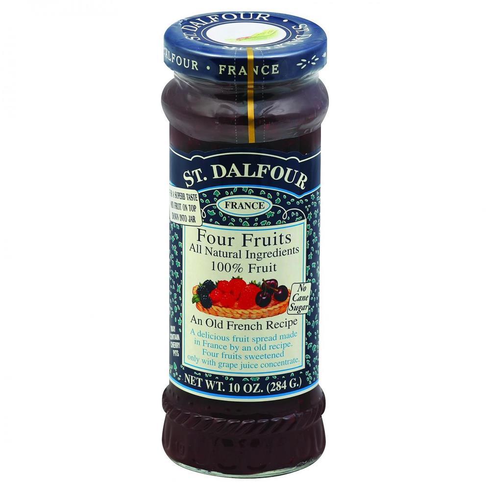 St. Dalfour - 4 Fruit Conserves ( 6 - 10 OZ)
