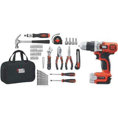 BD 20V MAX Lithium Drill w Kit