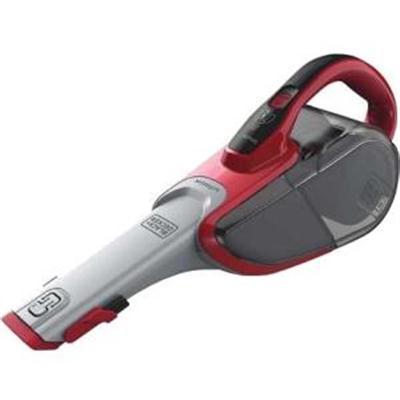 BD Cordless Lithium Hand Vacuum Red