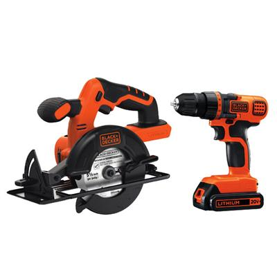 BD Drill Driver Circular Saw Kit