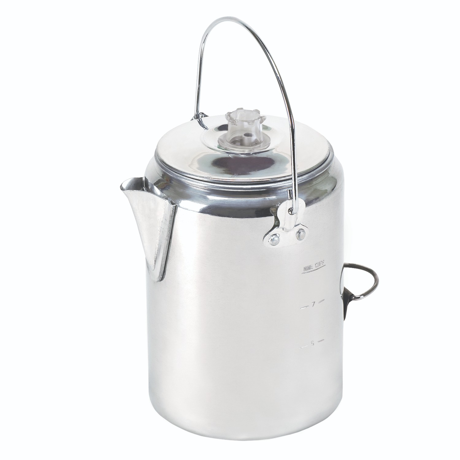 Stansport Aluminum Percolator Coffee Pot- 9 Cup