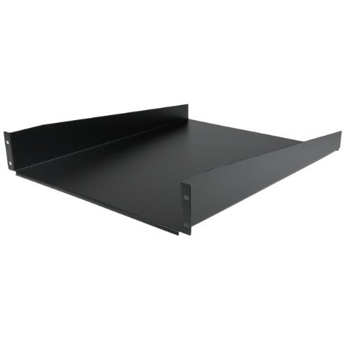 "2U 22"" Fixed Rack Mount Shelf"