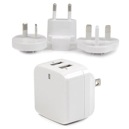 2x USB Wall Chargr 17W 3.4A Wh