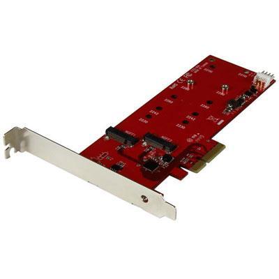 2x M.2 SSD Controllr Card PCIe