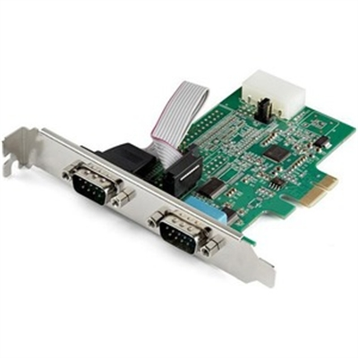 2 Port PCI Express RS232 Card