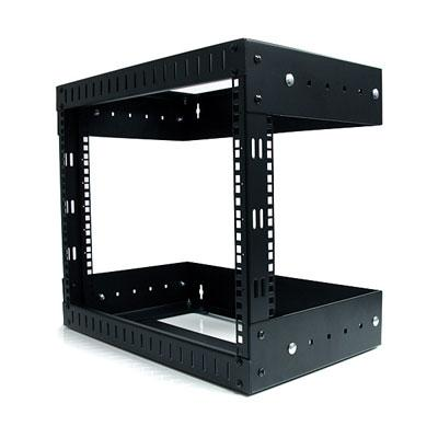 8U Open Frame Equipment Rack