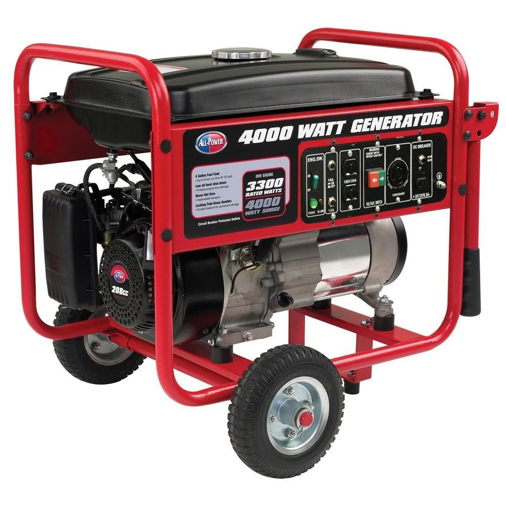 4000W Generator w/Mobility