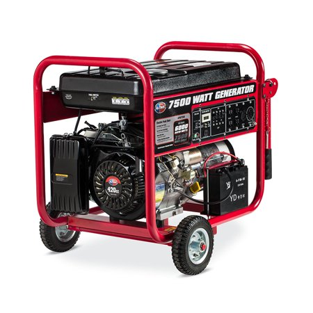 7500W Generator With Electric Start