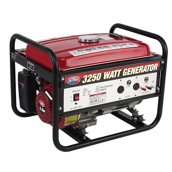 3250W Max 2500W Rated Generator
