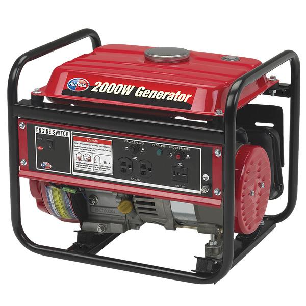 2000W 3HP EPA Generator