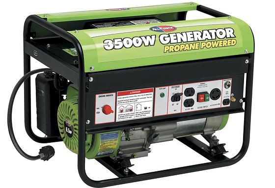 3500W Propane Generator