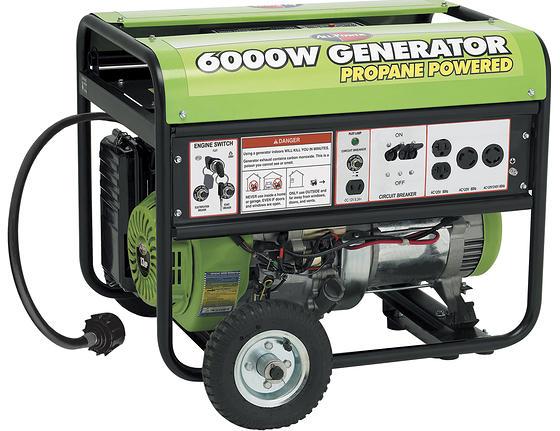 6000W Propane Generator