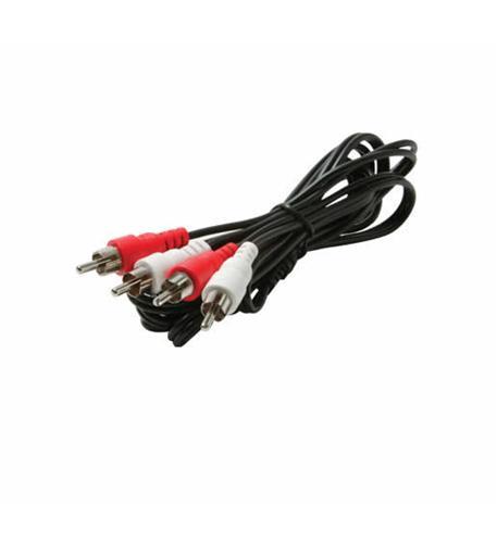3' 2-RCA Plugs to 2-RCA Plugs
