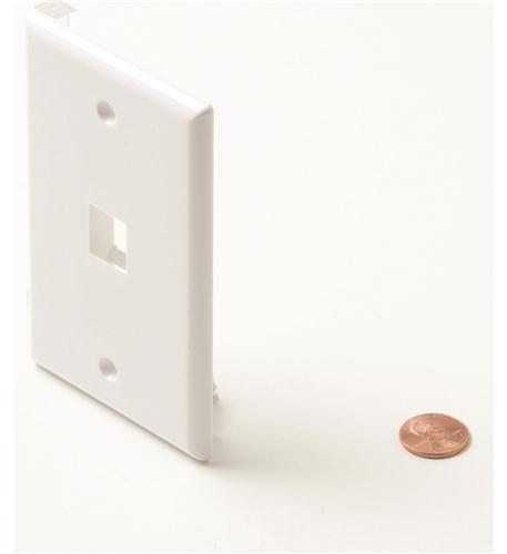 1-Cavity White Keystone Plate