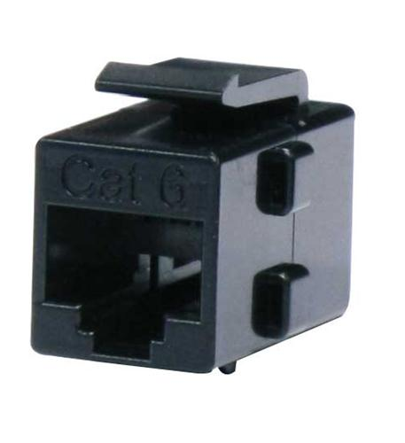 Cat6 Keystone Coupler Black