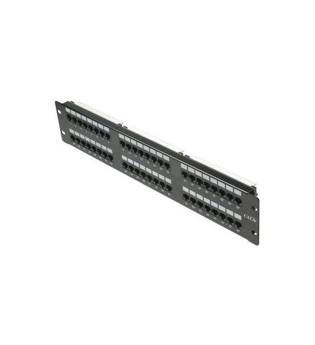 Cat5e 48-Port Loaded Patch Panel