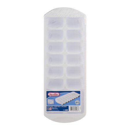 Sterilite Stacking Ice Cube Tray, 12-Pack