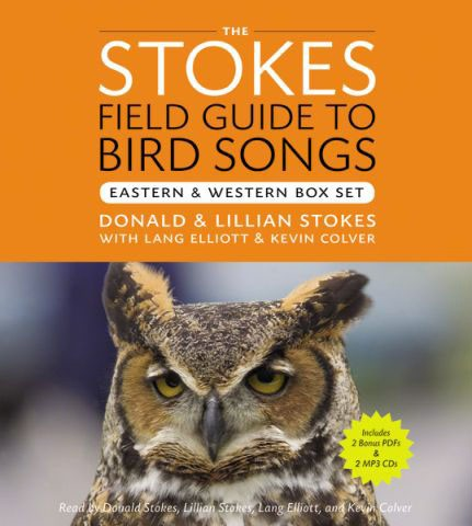Stokes Field Guide to Bird Songs East and West 8 CD's