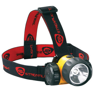 Streamlight� Yellow HAZ-LO� Head Lamp With LED (3 AA Alkaline Batteries Included)