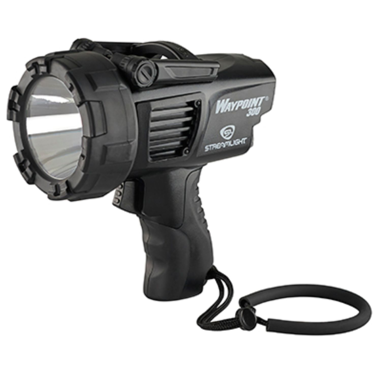 Streamlight Waypoint 300 120V AC w Mount-Black