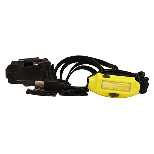 Bandit-3M Dual Lock and USB cord-Yel-Box