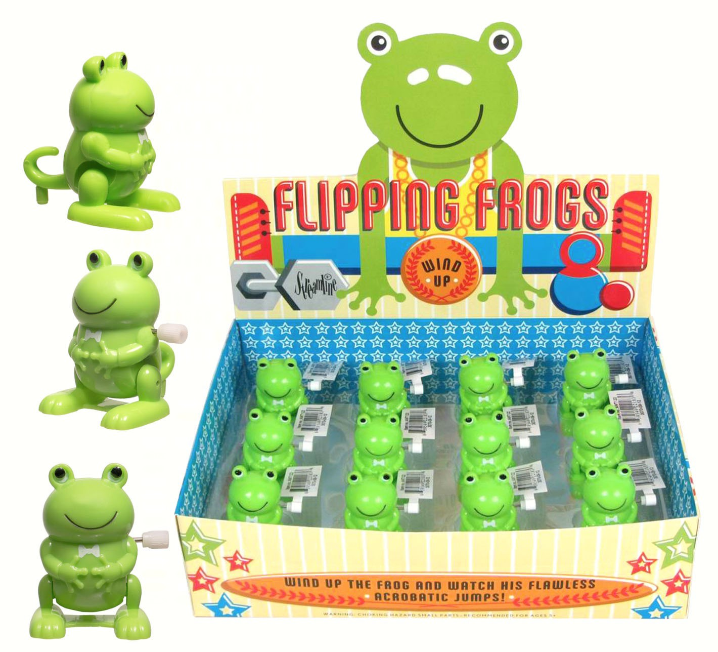 Flipping Frog Wind Ups