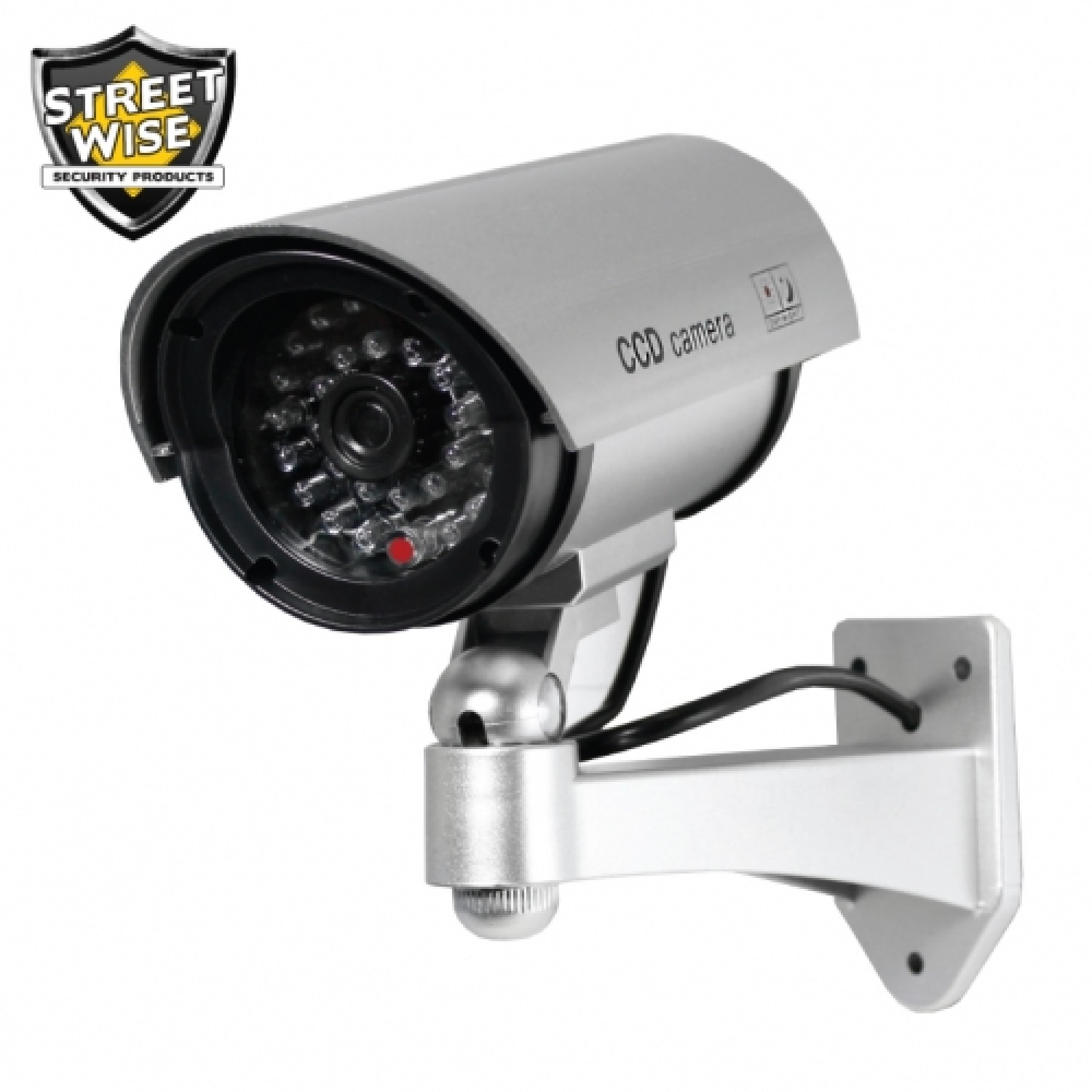 Streetwise Outdoor Dummy Camera-Flashing Light