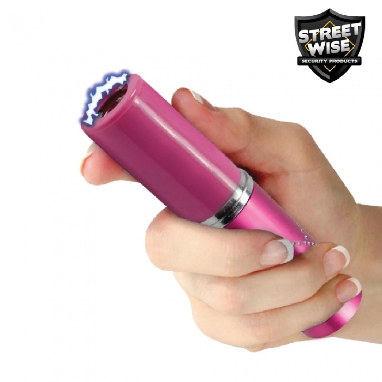 Streetwise Perfume Protector 17mil StunGun Pink