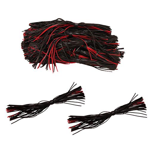 50 Pack Bulk Skirts,Black Red
