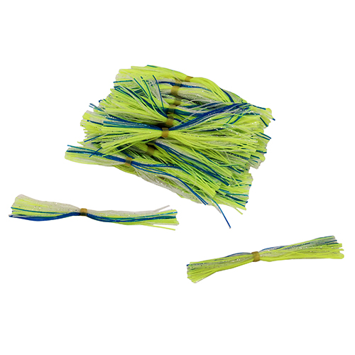 50 Pack Bulk Skirts,Chartreuse Blue Clear