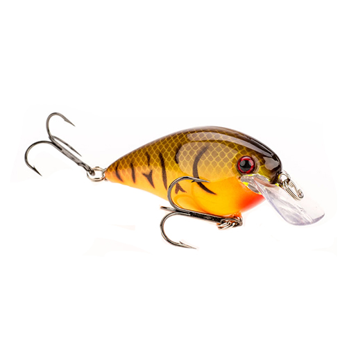KVD Square Bill 1.5,Org Belly Craw