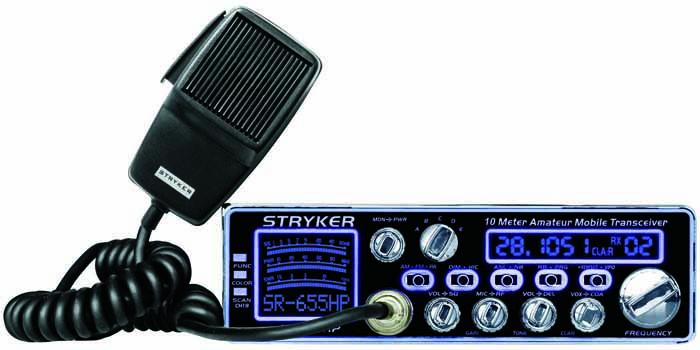 80-90 WATT 10 METER RADIO WITH 7 COLOR CHANGE FACE