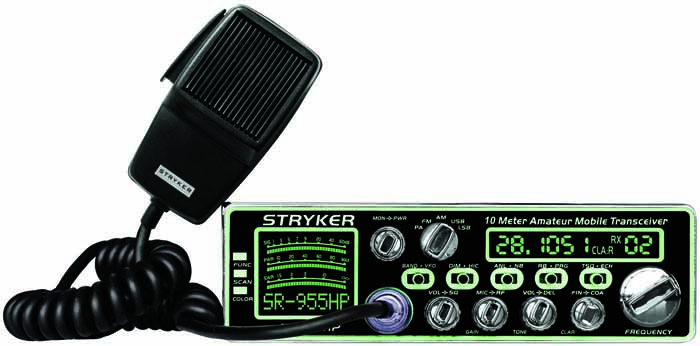 80-90 WATT 10 METER AM/FM/SSB/PA RADIO W/7 COLORS