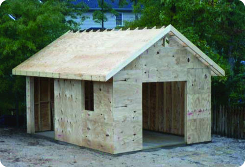 DIY Build A Shed