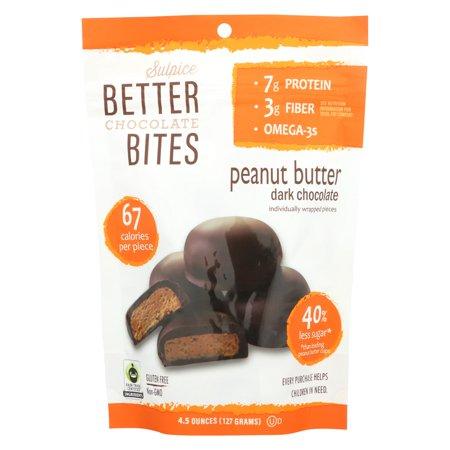 Bites - Dark Chocolate Peanut Butter ( 6 - 4.5 OZ )