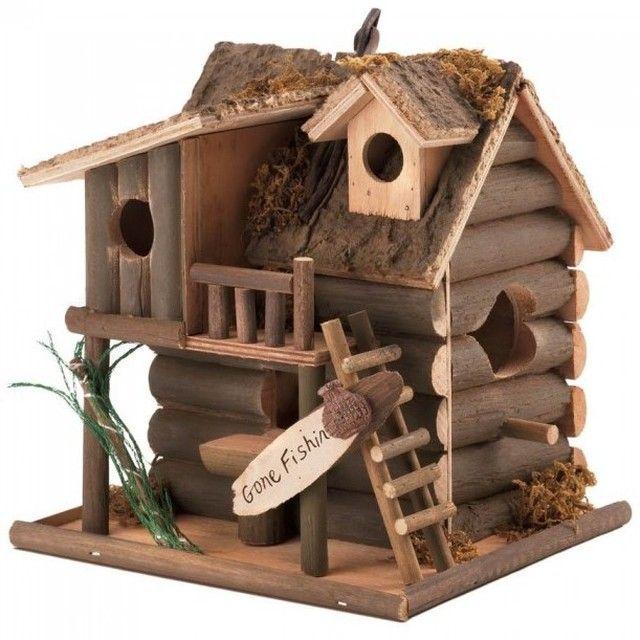 Gone Fishin� Birdhouse