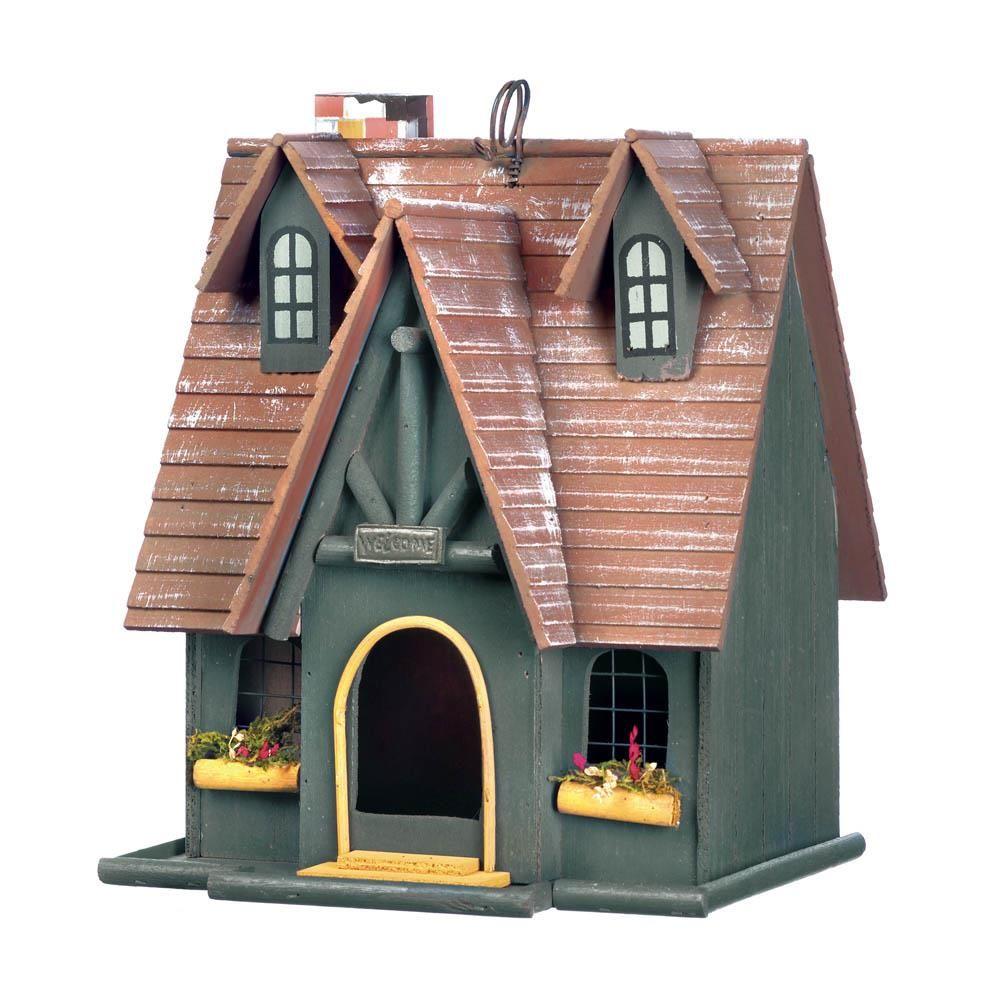 Storybook Cottage Birdhouse