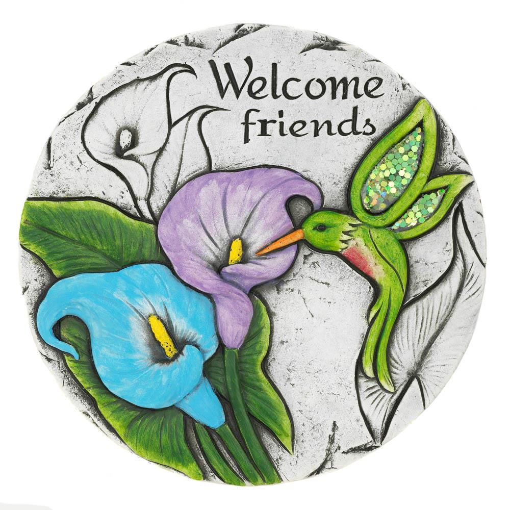 Welcome Friends Stepping Stone