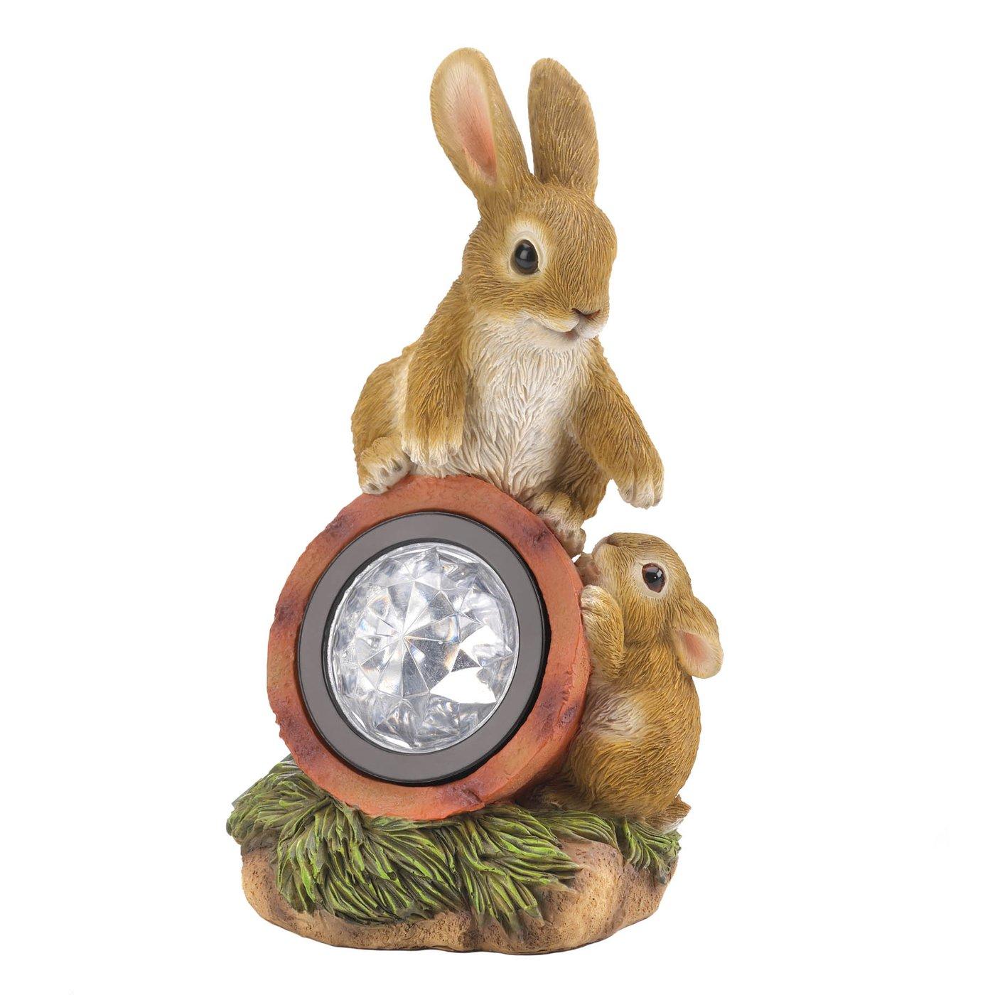 Rabbit W/Solar Light