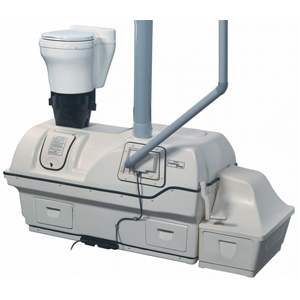 Centrex 3000 Composting Toilet System with A/F Waterless Kit and AC/DC Kit