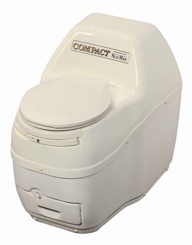 Compact Composting Toilet - Bone