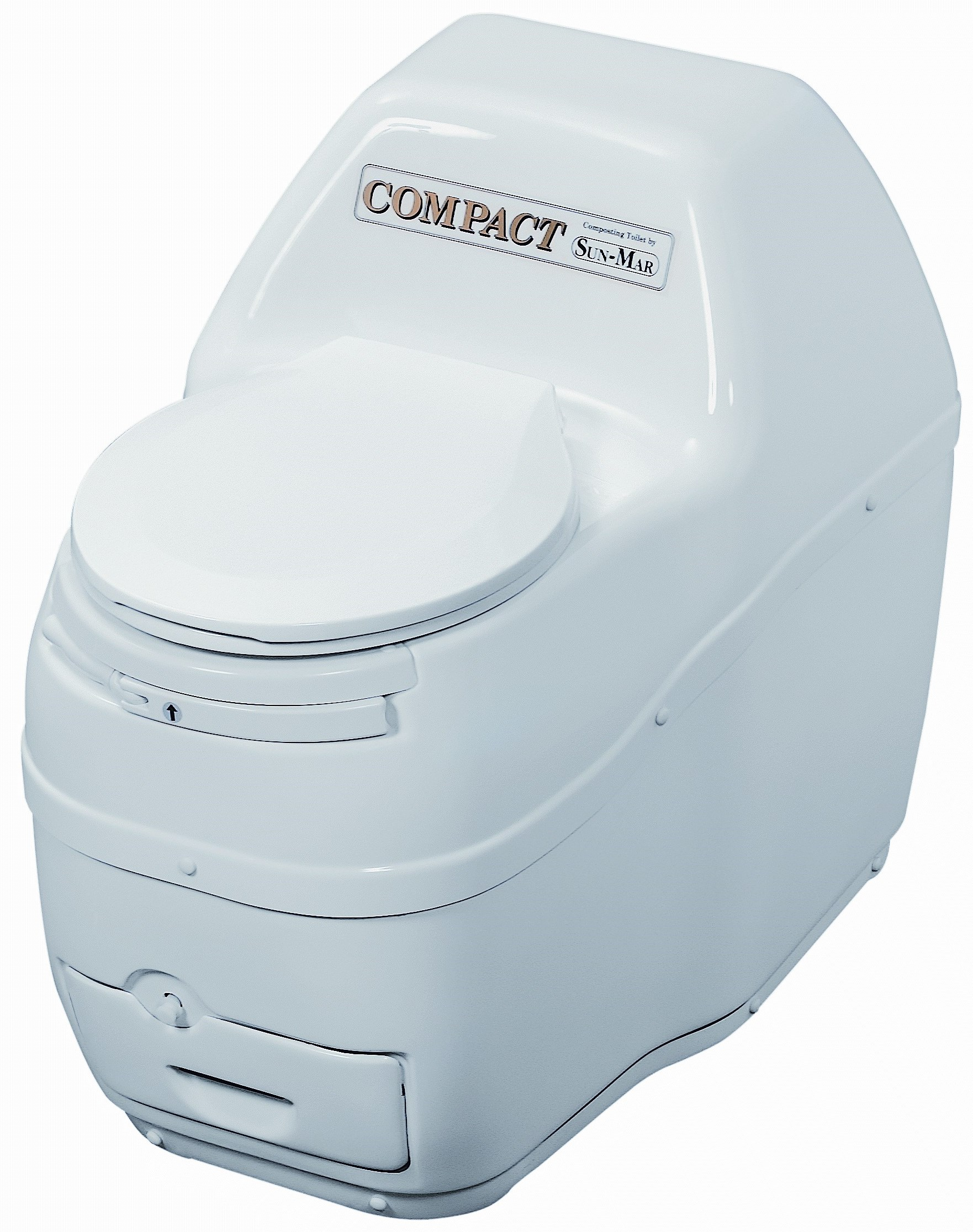 Compact Composting Toilet - White
