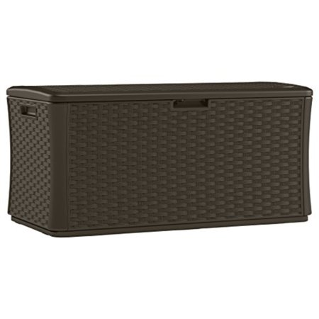 134 Gal Deck Box, Wicker