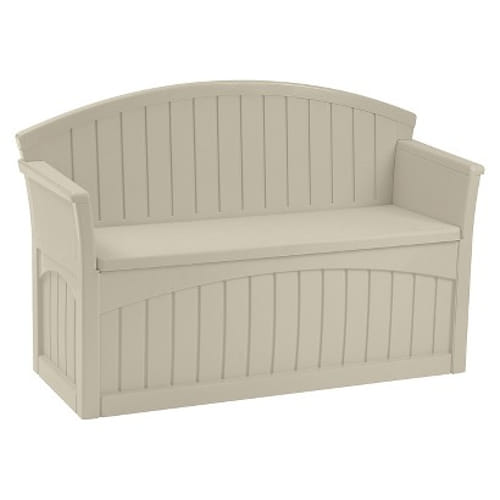 Patio Bench with Underseat Storage