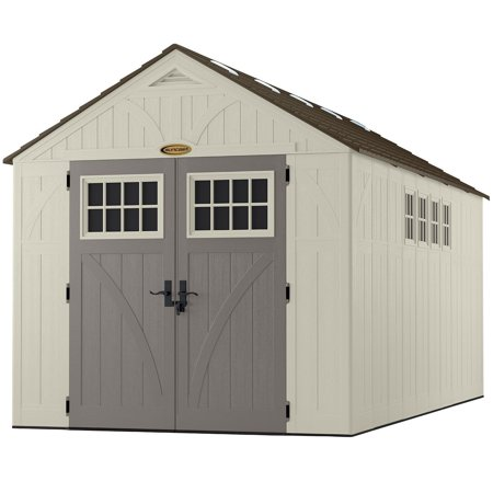 8 X 16 Shed With Windows