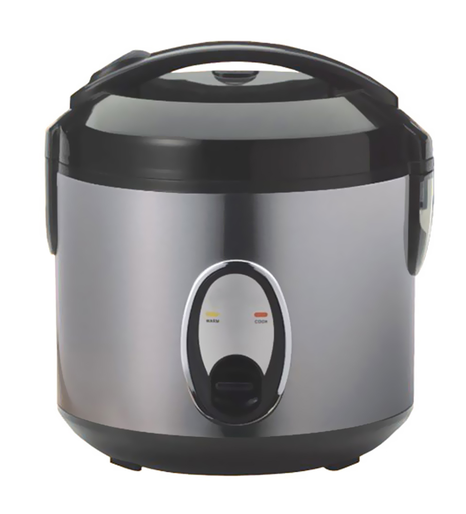 Sunpentown 6-cups Rice Cooker with Stainless Body-SC-1201S